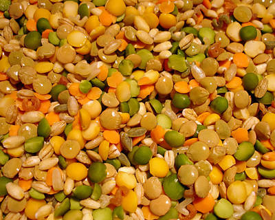 Photograph - Peas And Lentils by Lynda Lehmann