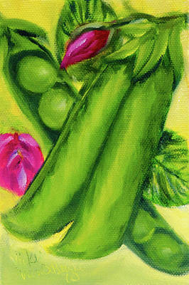 Painting - Peas In A Pod by Vicki VanDeBerghe