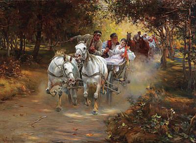 Peasant Wedding Art Print