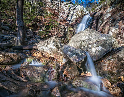 Photograph - Peavine Falls by Andy Crawford
