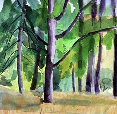 Peavy In September Art Print by Alexandra Schaefers