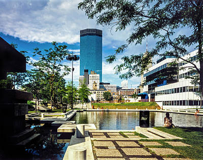Photograph - Peavy Plaza by Lonnie Paulson