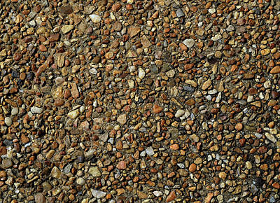 Photograph - Pebble Abstract by Karen Harrison