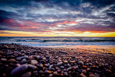 Photograph - Pebble Beach 1 by Michael Damiani