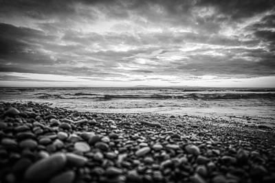 Photograph - Pebble Beach Bw by Michael Damiani