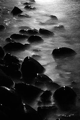 Photograph - Pebble Beach By Moonlight by Larry Ricker