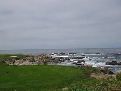 Photograph - Pebble Beach Golf Course II Monterey California Usa by John Shiron