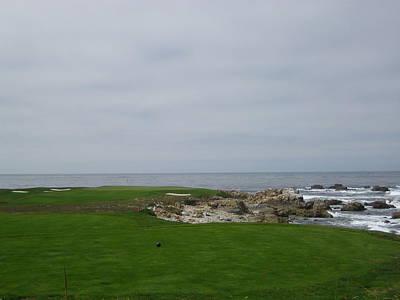 Photograph - Pebble Beach Golf Course Monterey California Usa by John Shiron
