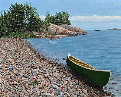 Painting - Pebble Beach by Kenneth M Kirsch