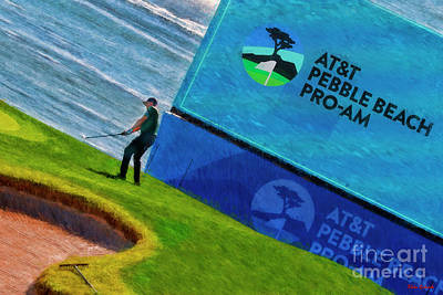 Photograph - Pebble Beach Pro-am by Blake Richards