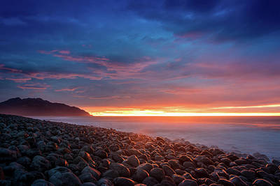 Photograph - Pebble Beach Sunrise 2 by Martin Capek