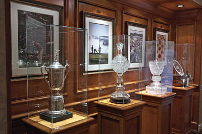 Photograph - Pebble Beach Trophy Room by Michele Myers
