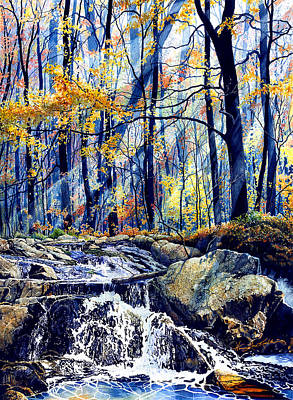 Pebble Creek Autumn Original