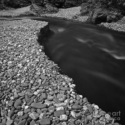 Stopper Photograph - Pebble Estuary by Richard Thomas