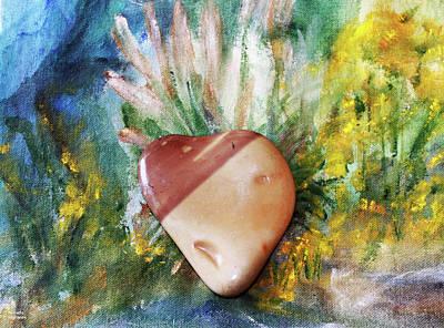 Photograph - Pebble Heart by Augusta Stylianou