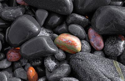 Pebble Jewels   Art Print