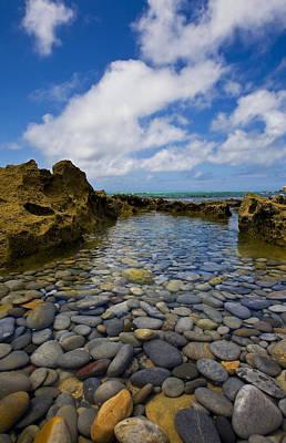 Pebble Pond In Paradise Original by Basie Van Zyl