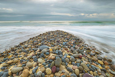 Photograph - Pebble Wedge by Alexander Kunz