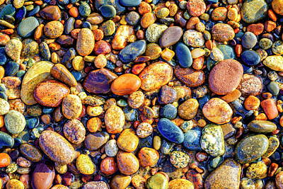Photograph - Pebbles by Alexey Stiop