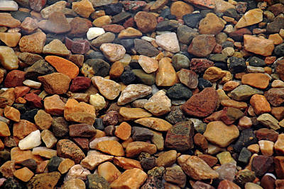 Photograph - Pebbles In The Shallows by Debbie Oppermann