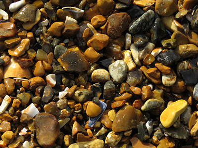 Photograph - Pebbles by John Topman