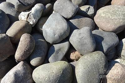Photograph - Pebbles by Karen Jane Jones