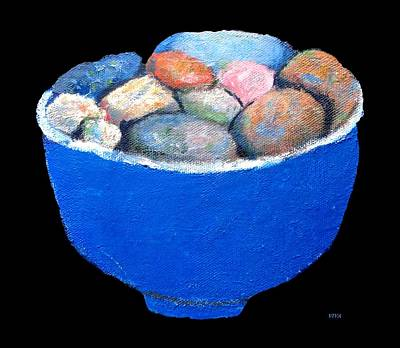 Painting - Pebbles Memories by VIVA Anderson