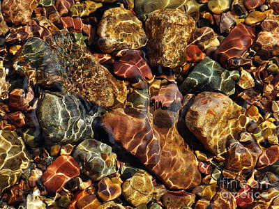 Photograph - Pebbles by Nicola Butt