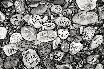 Photograph - Pebbles On Aldeburgh Beach by David Calvert