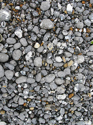 Photograph - Pebbles On The Beach  by Tom Conway