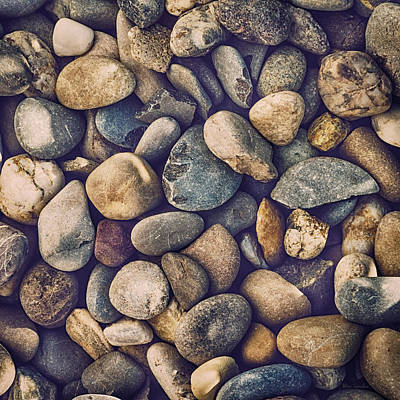 Photograph - Pebbles by Wim Lanclus