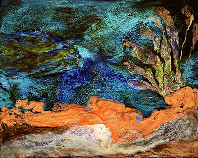Painting - pebeo Reef by Patricia Beebe