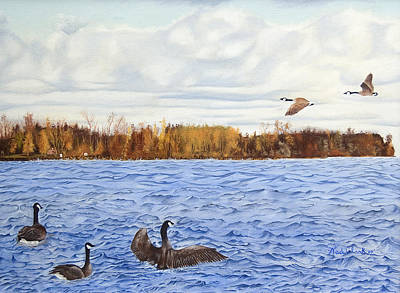Painting - Peche Island Canadas by Wade Clark
