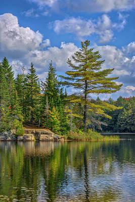 Photograph - Peck Lake by Irwin Seidman