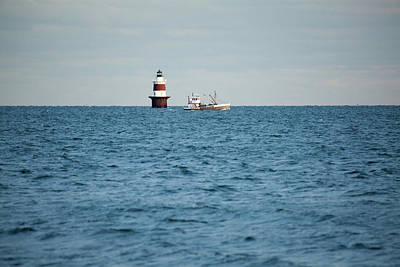Photograph - Peck Ledge Lighthouse by Karol Livote