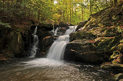 Art Print featuring the photograph Pecks Falls by Mike Martin