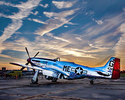 Photograph - Pecos Bill, A P-51 Mustang D by Chris Coffee
