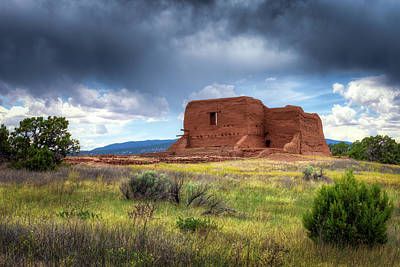 Photograph - Pecos National Historical Park by James Barber