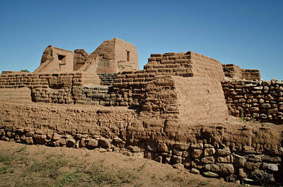 Photograph - Pecos Pueblo Ruins by David Gordon