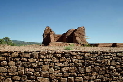 Photograph - Pecos Pueblo Ruins No. 2 by David Gordon