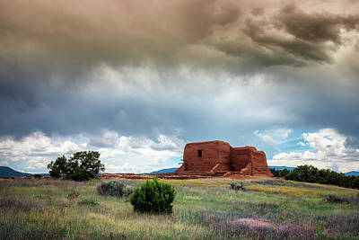Photograph - Pecos Storm 2 by James Barber