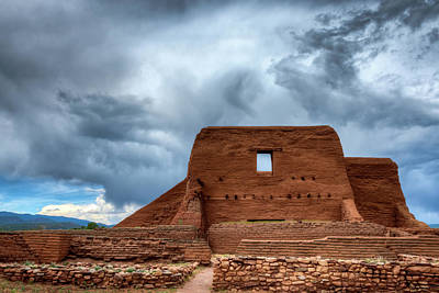 Photograph - Pecos Storm by James Barber
