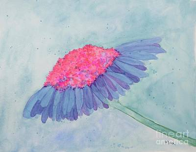 Painting - Peculiar Coneflower  by Barrie Stark