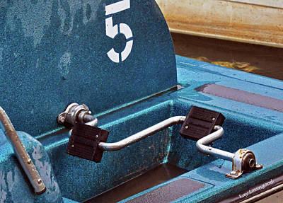 Photograph - Pedal Boat #5 Detail by Kay Lovingood