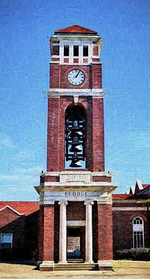 Photograph - Peddle Tower by JC Findley