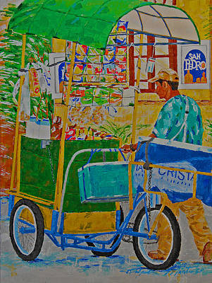 Painting - Peddling For Ones Visual Appetite by Art Mantia