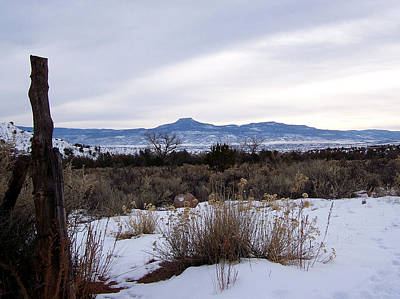 Photograph - Pedernal Mountain by Jeannie Bushman