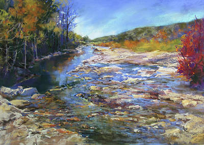 Painting - Pedernales Roaming by Rae Andrews