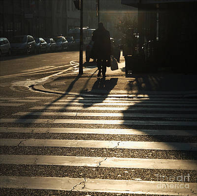 Pedestrian Passage Art Print by Paolo Pizzimenti