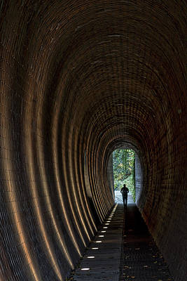 Photograph - Pedestrian Tunnel - Prague by Stuart Litoff